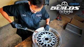 Download Clarion Builds Breathes New Life Into a Classic Set of BBS RS Wheels Video
