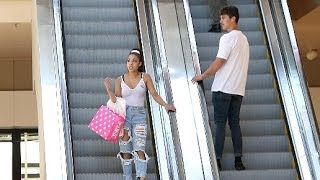 Download STARING AT STRANGERS ON THE ESCALATOR PRANK!! Video