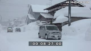Download Extreme Snow Winter Weather Japan 2017 /18 4K Stock Footage Reel Video