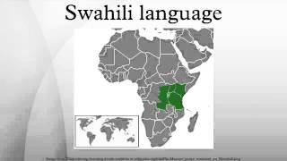Download Swahili language Video