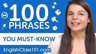 Download 100 Phrases Every English Beginner Must-Know Video