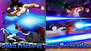 Download Goku, Frieza, and 17 vs Jiren! Reenacting Epic Fights! - Dragon Ball Xenoverse 2 Video