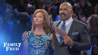 Download Shelly and Jim play for 20k! | Family Feud Video