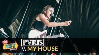 Download PVRIS - My House (Live 2015 Vans Warped Tour) Video