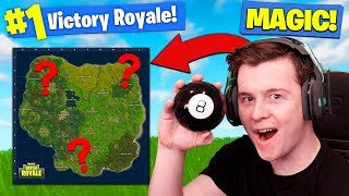 Download Using MAGIC 8-BALL TO *WIN* Fortnite Battle Royale! Video
