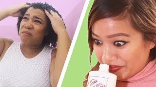 Download People Try Garlic Shampoo Video