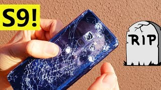 Download Test de DESTRUCCIÓN del Galaxy S9 - CUCHILLO, CAÍDAS Y MARTILLO Video