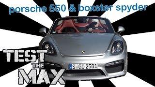 Download Porsche 550 & Porsche Boxster | Test the Max Video