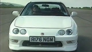 Download Honda Integra Type R DC2 Review by Top Gear 1998 Video
