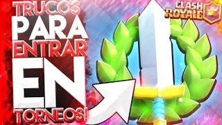 Download TRUCOS!! PARA UNIRTE A TORNEOS de CLASH ROYALE Video