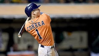 Download Carlos Correa Pull Back in Baseball Swing Video