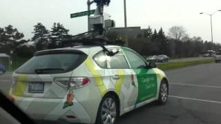Download Google Street View Car In Ottawa Video