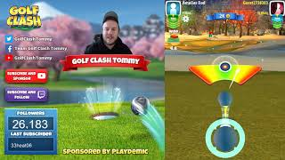 Download Golf Clash tips, Playthrough, Hole 1-9 - ROOKIE - TOURNAMENT WIND! Festive Cup Tournament! Video