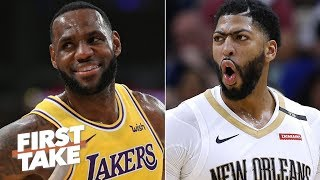 Download Anthony Davis will be the best teammate LeBron ever had – Max Kellerman | First Take Video