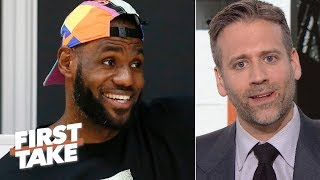 Download 'Why do the Lakers always get their man?'- Disgruntled Knicks fan Max Kellerman | First Take Video