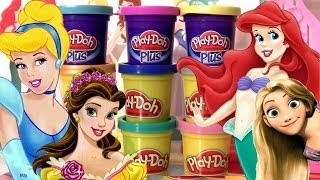 Download Play Doh Brilhante Princesas Disney Vestidos Salão de Baile Video