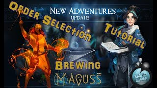 Download Maguss Tutorial, order selection and brewing Video
