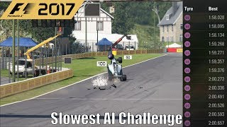 Download How Slow is 0% AI on F1 2017 (Slowest AI Challenge) Video