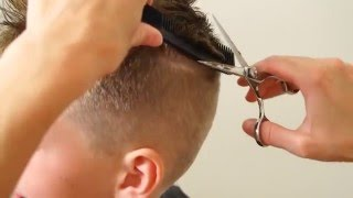 Download HOW TO CUT A BOYS MOHAWK // BASIC HAIRCUT Video
