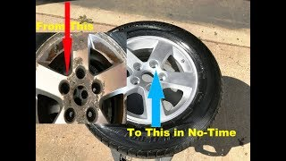 Download OLD SCHOOL Wheel/Rim Re-Conditioning..YOU CAN DO THIS ! Video