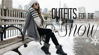 Download Outfits For The Snow! | What to Wear When It's COLD! Video