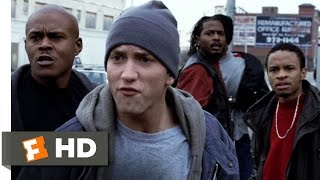 Download 8 Mile (2002) - Cheddar Pulls a Gun Scene (5/10) | Movieclips Video