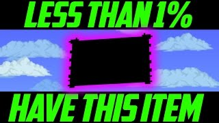 Download LESS THAN 1% OF TERRARIA PLAYERS OWN THESE ITEMS - The Rarest Items In Terraria 1.3? Video