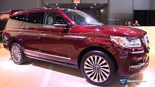Download 2018 Lincoln Navigator - Exterior and Interior Walkaround - Debut 2017 New York Auto Show Video
