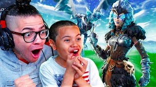 Download OMG NO WAY! THIS *NEW* SKIN IS INSANE! DUOS WITH MY 10 YEAR OLD BROTHER! FORTNITE BATTLE ROYALE! Video