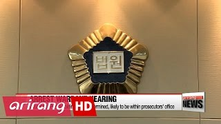 Download Ex-President Park to attend arrest warrant hearing Video