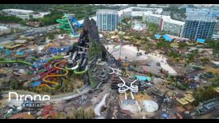Download Universal's Volcano Bay Construction Video