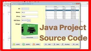 Download Java Project For Beginners Step By Step Using NetBeans And MySQL Database In One Video [ With Code ] Video