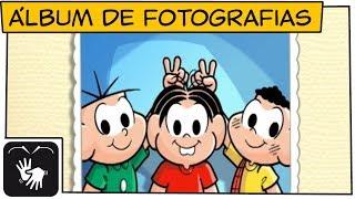 Download 👋😃👋[LIBRAS] Álbum de Fotografias   Turma da Mônica Video