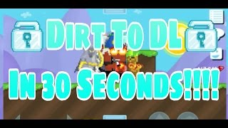 Download Growtopia | Dirt To DL In 30 Seconds!! Cartoon Shorts!! Video