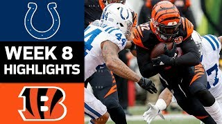 Download Colts vs. Bengals   NFL Week 8 Game Highlights Video