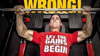 Download The Official Bench Press Check List (AVOID MISTAKES!) Video