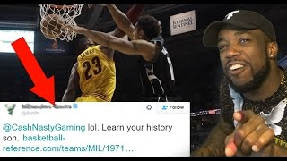 Download NBA Team Called Me Out On Twitter For Lebron James Getting Dunked On! Video
