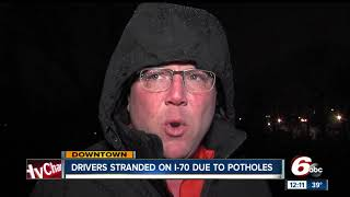 Download I-70 problem pothole disrupts traffic for 13 drivers Video