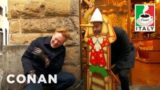 Download Conan & Jordan Schlansky Hit The Streets Of Florence - CONAN on TBS Video