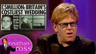 Download Elton John Is Out Of Pocket for ″Ball Cream″ | Full Interview | Friday Night With Jonathan Ross Video