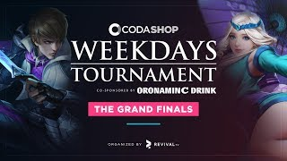 Download RRQ vs EVOS | CODASHOP Weekdays Tournament Co-Sponsored by Oronamin C - GRANDFINALS Video