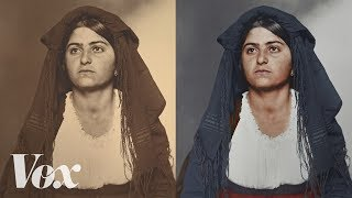 Download How obsessive artists colorize old photos Video