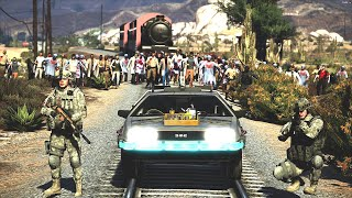 Download GTA 5 Mods - Zombie Apocalypse Online : Back to The Future Ep8 Video