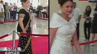 Download SONA: Magagarang kasuotan sa ikatlong SONA ni PNoy, agaw-pansin Video