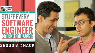Download FilterCopy | Stuff Software Engineers Are Tired Of Hearing | Ft. Gulshan Devaiah) Video