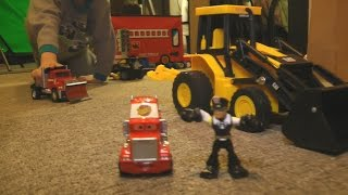 Download Fun TOY Cars and Trucks KIDS PLAYING iMagination PLAYTIME Video