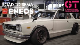 Download Skyline Hakosuka and Top SEMA Tuners - Road to SEMA 2016 by ENEOS Video