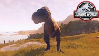 Download MY FIRST T-REX! - Jurassic World Evolution #10 Video