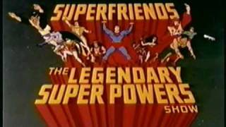 Download Super Friends to Justice League Intros Video