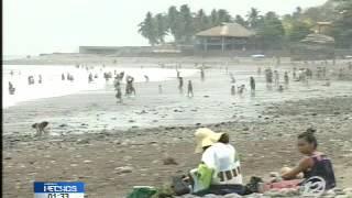 Download Autoridades declaran alerta de Tsunami en las costas de El Salvador Video